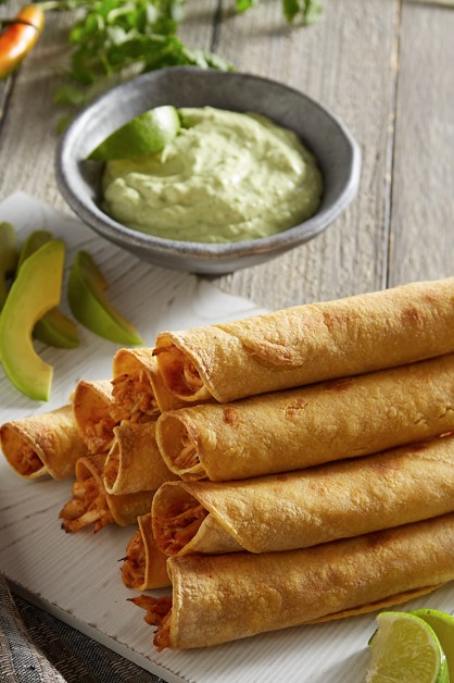 Easy baked taquitos