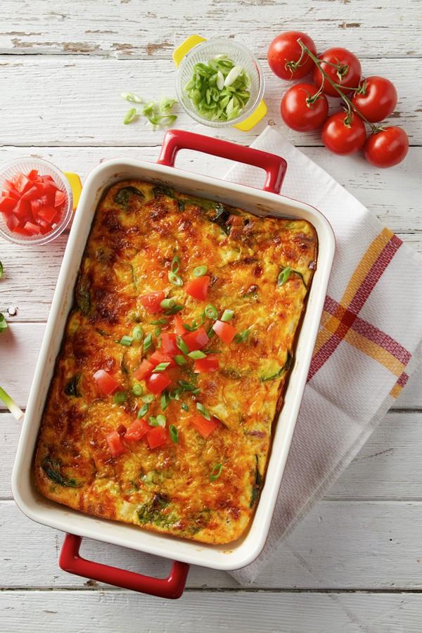 Hearty Baked Omelette