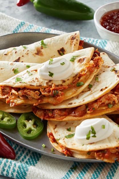 Mini Spicy Quesadillas