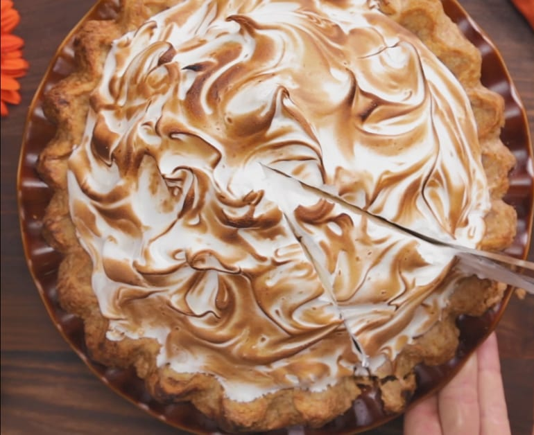 Pumpkin Meringue Pie