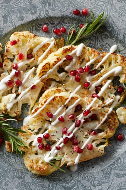 Roasted Cauliflower Steaks - Daisy Brand - Sour Cream ...