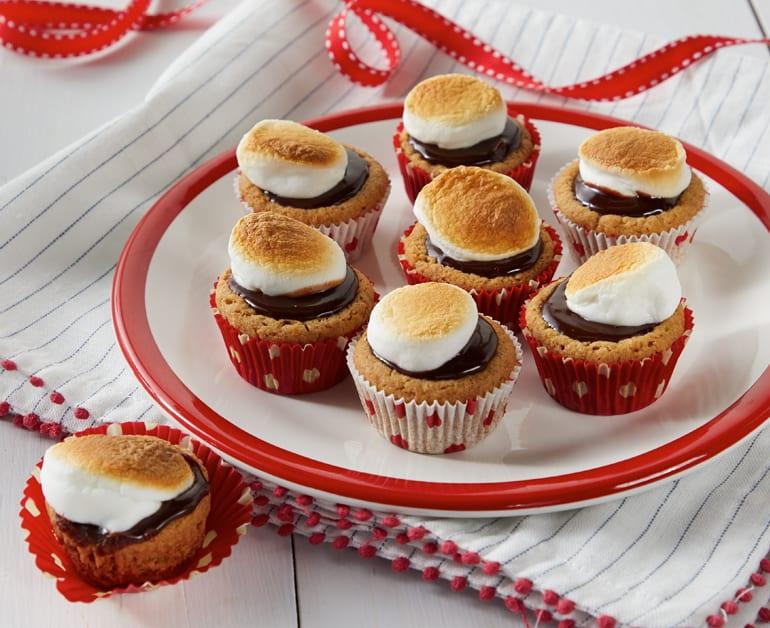 Smores mini tarts