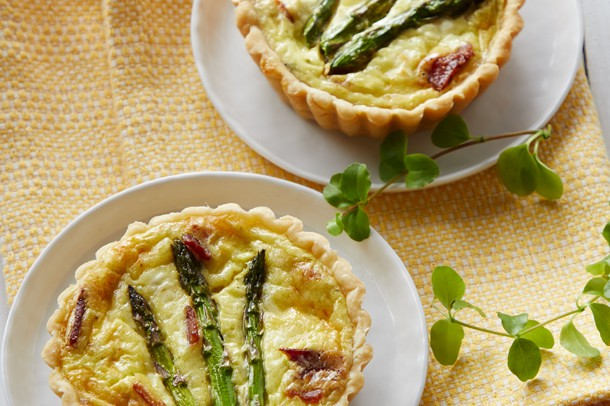 Spring Asparagus Quiche Recipe