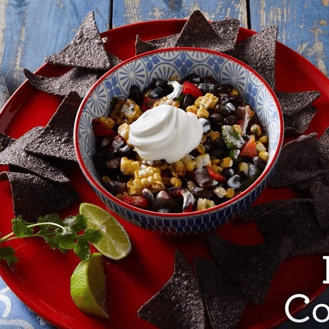 Festive Corn Dip