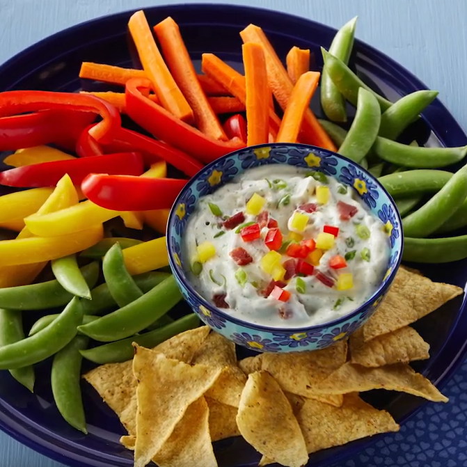 Protein Packed Bacnon Ranch Dip