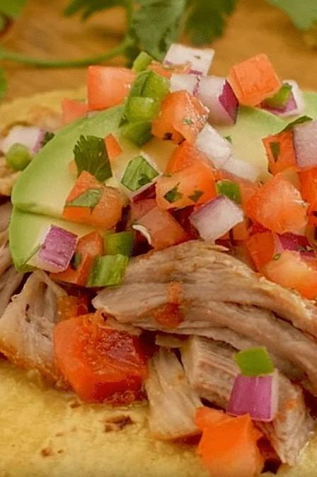 Quick Carnitas Tacos