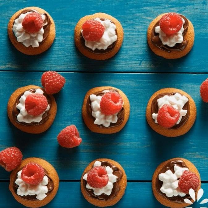 Raspberry Hazelnut Snack Bites