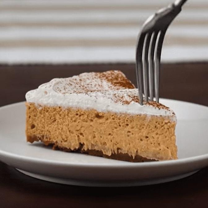 Sour Cream Pumpkin Cheesecake