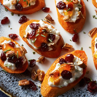 Apricot Rosemary Sweet Potatoes